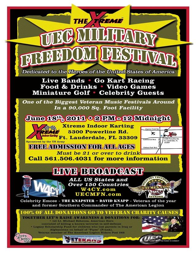 Xtreme UEC Military Freedom Festival