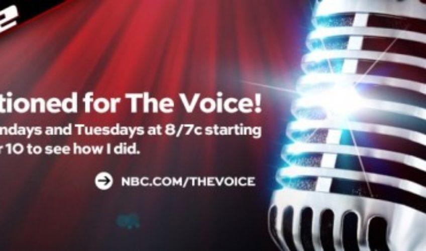 W4CY RADIO HOST MICHAELA PAIGE ON NBC'S THE VOICE