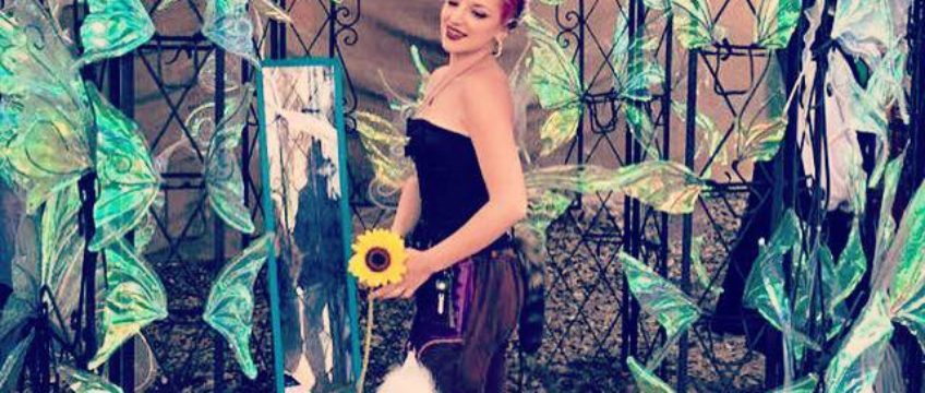 Michaela Paige, The Pipeman, and RenFest