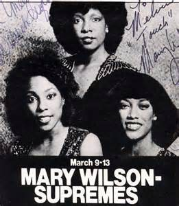 Mary Wilson, The Supremes