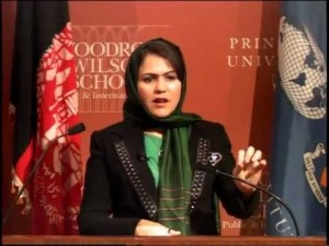 Fawzia Koofi is changing the landscape of gender and education equality around the world. She has received several death threats from the Taliban.