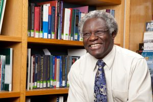 Calestous Juma is a Harvard professor and author, known for his tremendous work on science and innovation development.