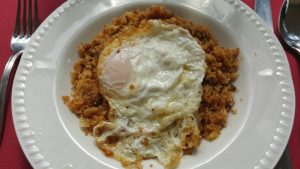 migas and egg