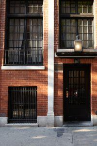 The historic James Beard House is located at 167 West 12th Street in Greenwich Village, NYC