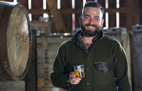Ryan Burk, Angry Orchard's Cider Maker